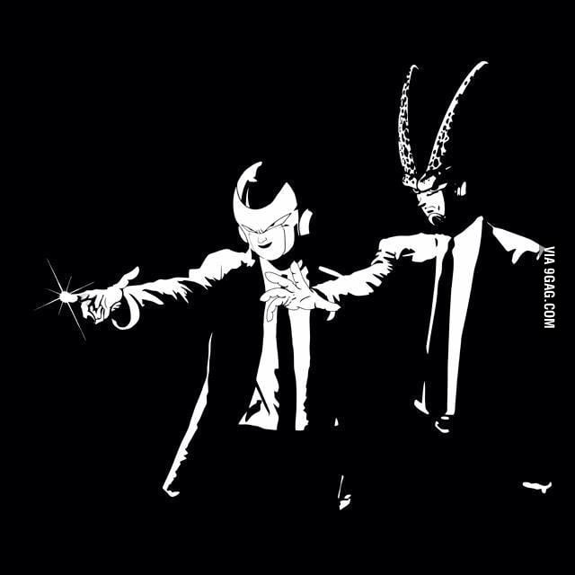 Another Awesome Pulp Fiction Crossover! #Dbz