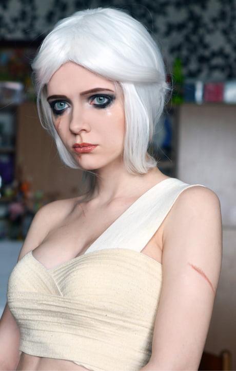 Ciri makeup - Witcher 3 - by Irina Sabetskaya
