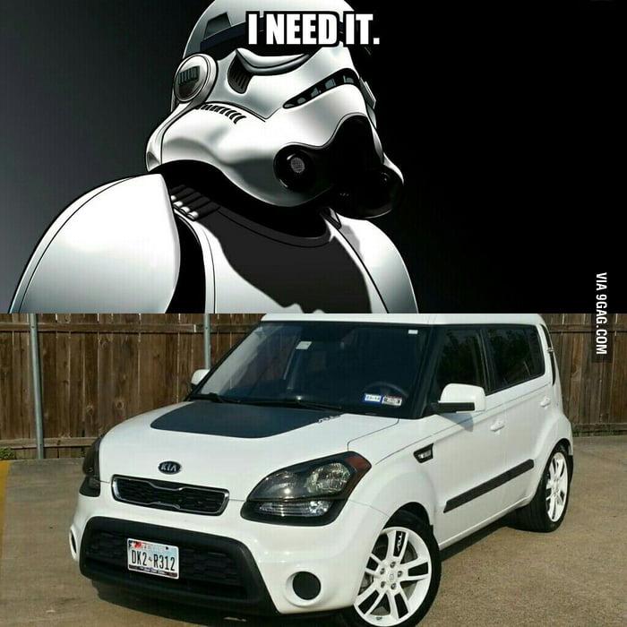 Stormtrooper Cars Kia Soul Jokes Funnypictures Www Picturesboss Com