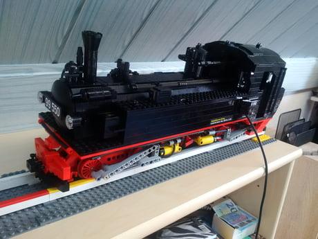 Sächsische IV K narrow-gauge steam locomotive, build in 1:16
