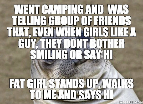 The awkward silence that followed up, they all stared at her