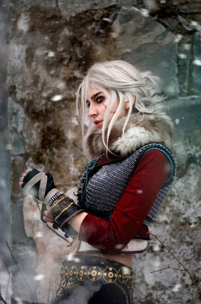 Ciri cosplay by MariyaNegoduet - 9GAG