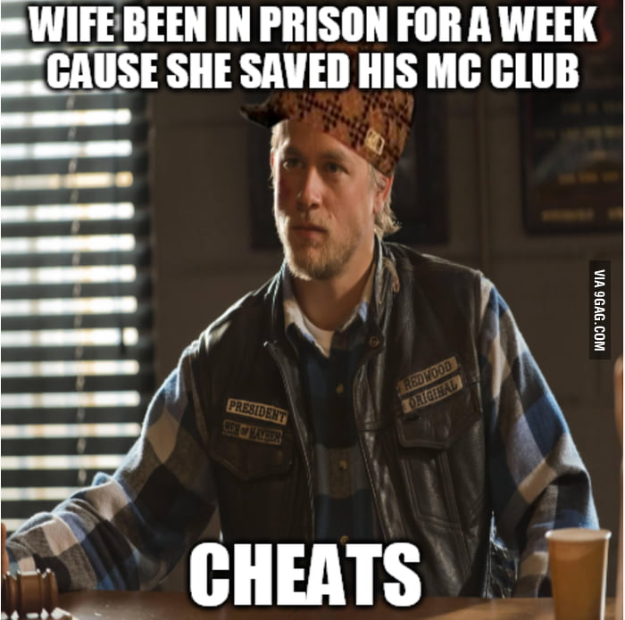 Scumbag Jax Teller From Sons Of Anarchy 9gag