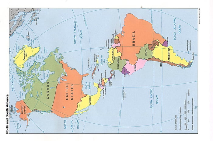Map Of America Looks Like A Duck.So The Americas Sideways Looks Like A Duck 9gag