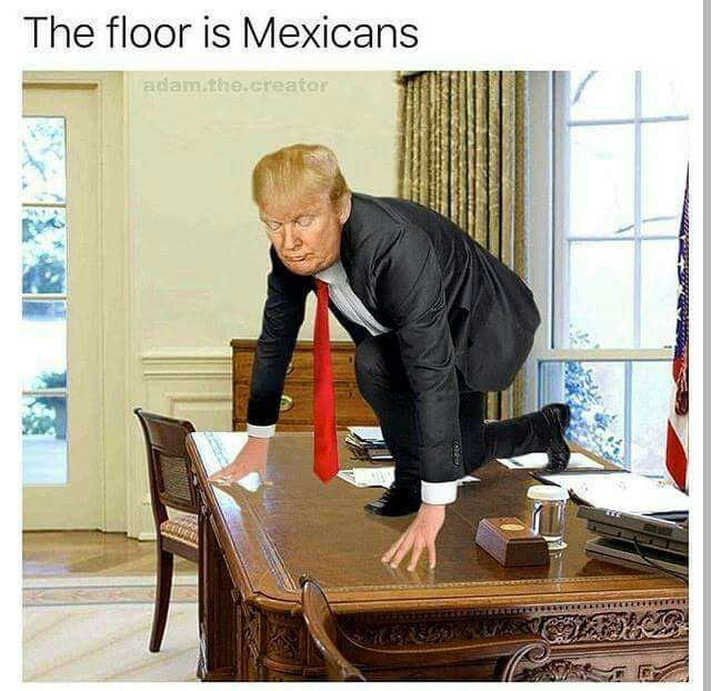 The floor is Mexi....