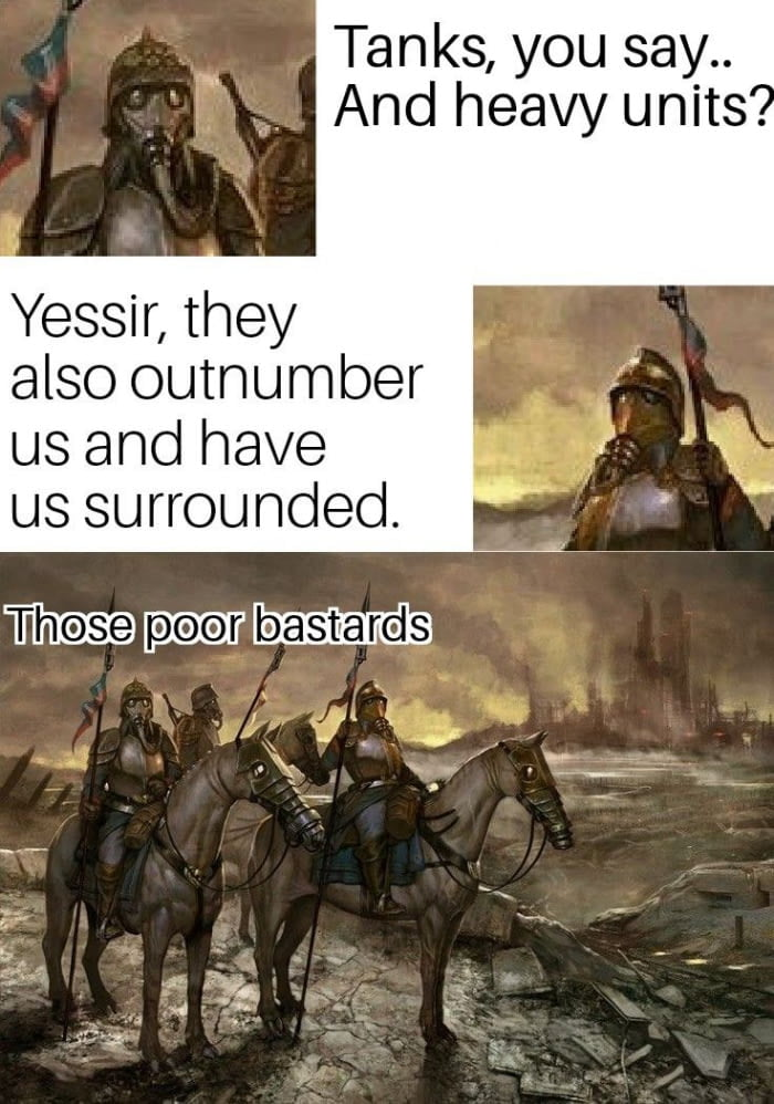 Death korps of Krieg in a nutshell - 9GAG