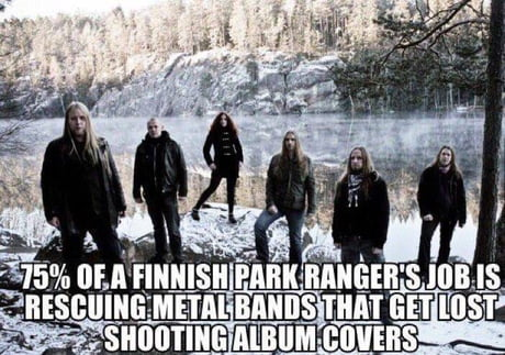 I farted in a finnish forest