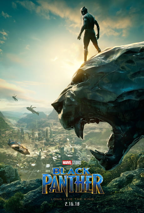 Black Panther SDCC Poster HD