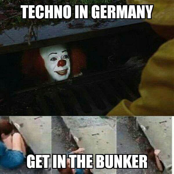 Going to Techno club in Germany - 9GAG