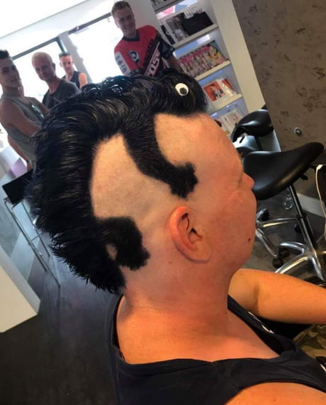 What did he say to the barber?