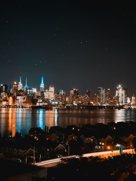 Picture of New York's skyline I made about a week ago on my vacation.