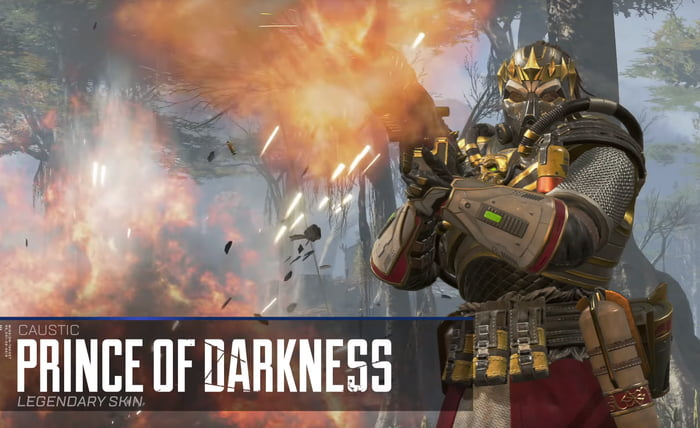 Do You Guys Like The New Caustic Prince Of Darkness Skin 9gag