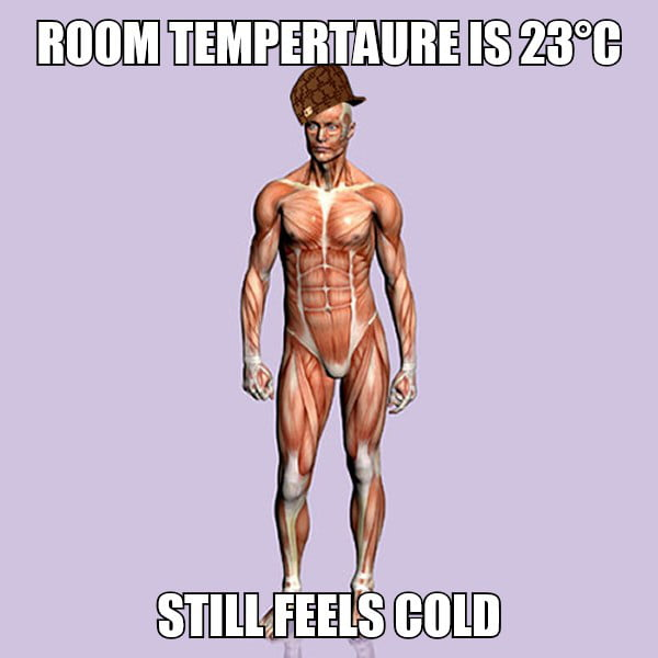 What's the usual winter room temperature in your ...