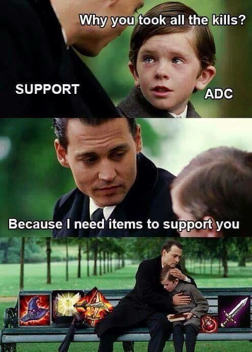Every Time I play support