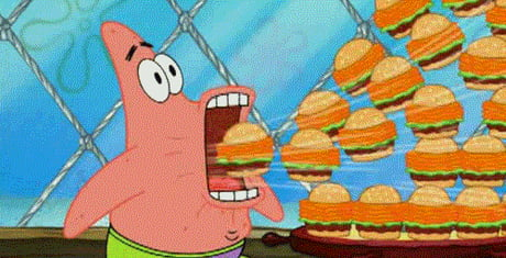When im at a party, and there is free food