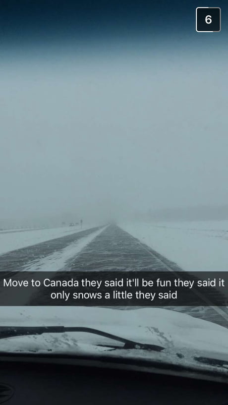 Well it is Canada (friend who immigrated from Britain)