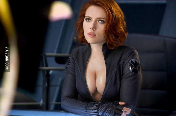 Claire Ana As Black Widow