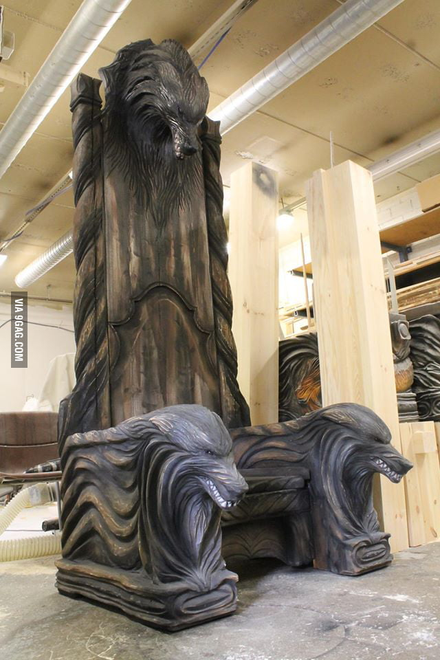Viking throne craft made in Finland - 9GAG