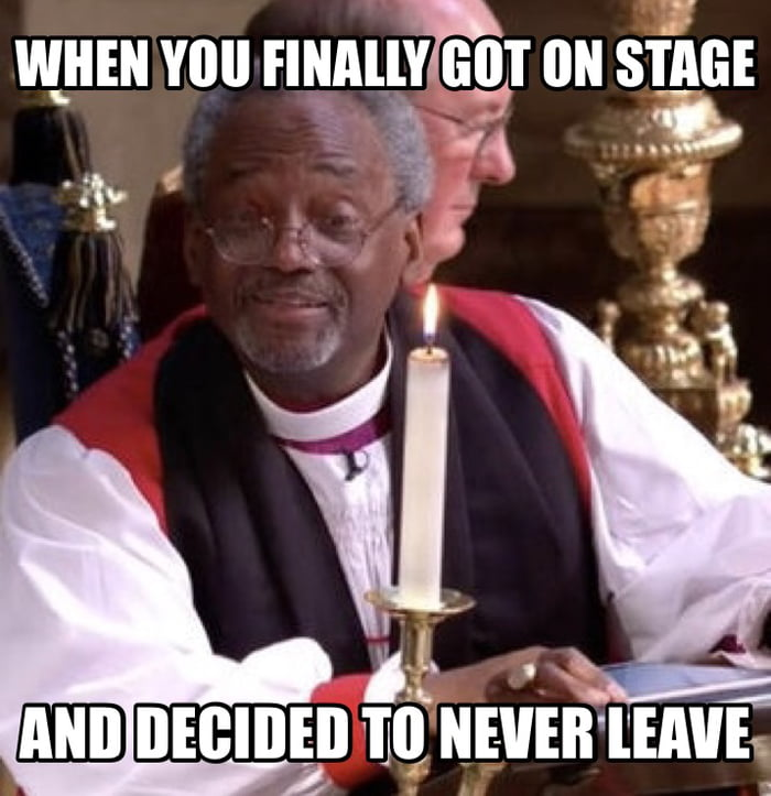Michael Curry Royal Wedding.Bishop Michael Curry Taking His Time During The Royal Wedding 9gag