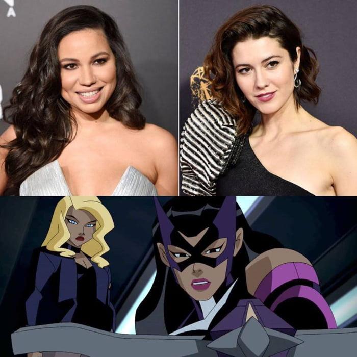 Birds Of Prey Cast Jurnee Smollett Bell Is Black Canary And Mary Elizabeth Winstead Is Huntress 9gag