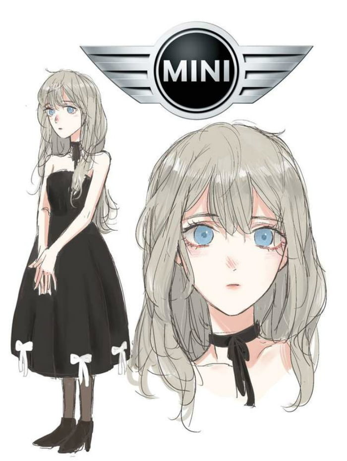 different car brands reimagined as anime characters 9gag