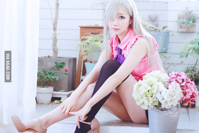 Elizabeth Cosplay From Nanatsu No Taizai 9gag