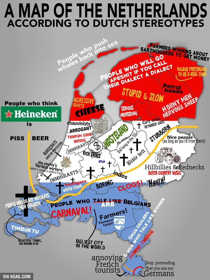 Map of dutch stereotypes 9gag map of dutch stereotypes gumiabroncs Choice Image
