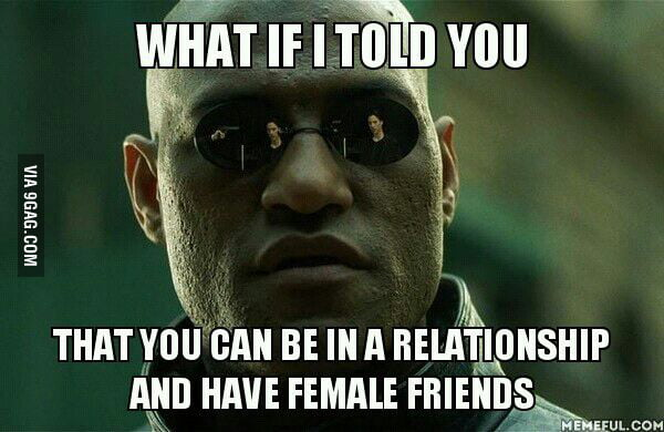 For insecure/protective girlfriends - 9GAG