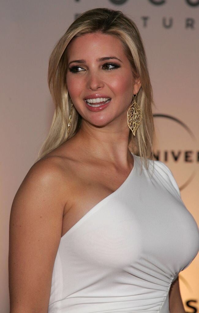 Donald Trump's daughter has pretty good breasts.
