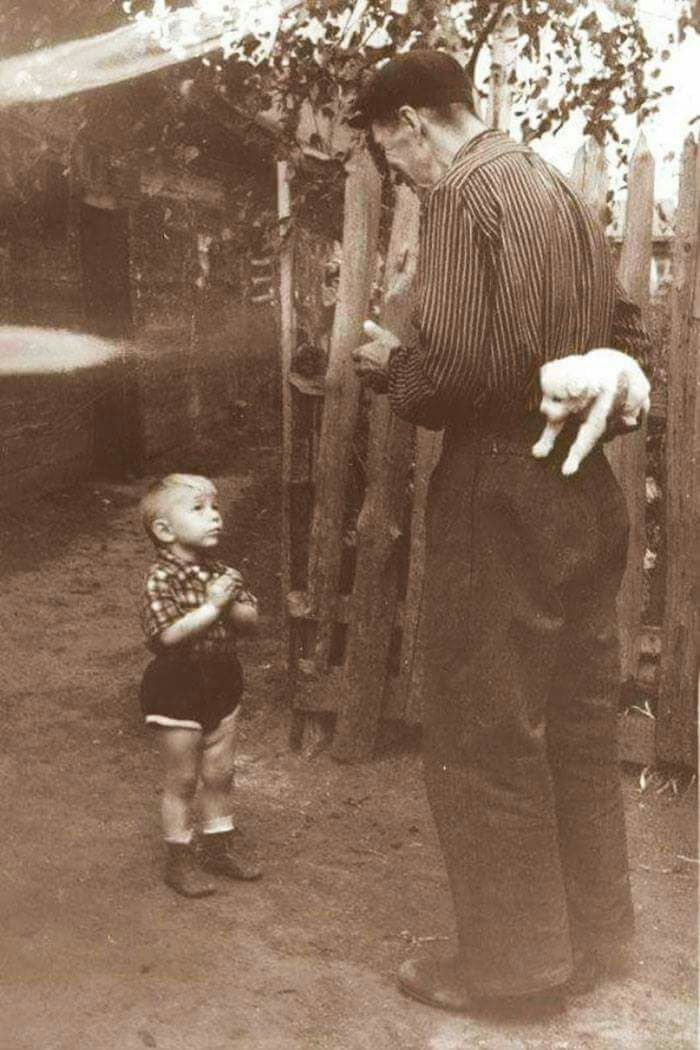 Few seconds before happiness. Romania, cca. 1970