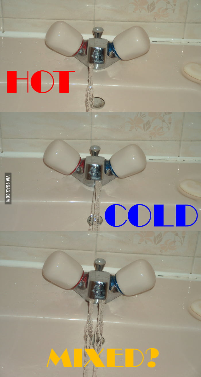 Racist British Faucets don\'t mix! - 9GAG