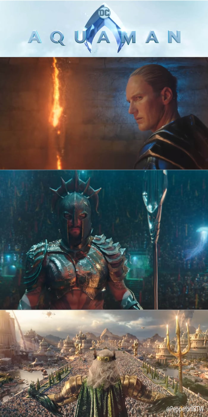 Here Are Some Screenshots Of The Extended Trailer For Aquaman
