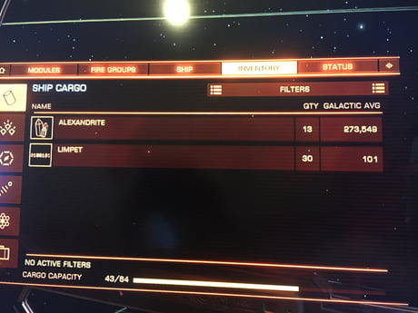 Incase you thought mining in Elite Dangerous wasn't worth it  o7 - 9GAG