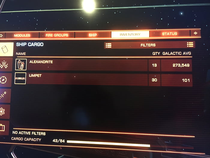 Incase you thought mining in Elite Dangerous wasn't worth it