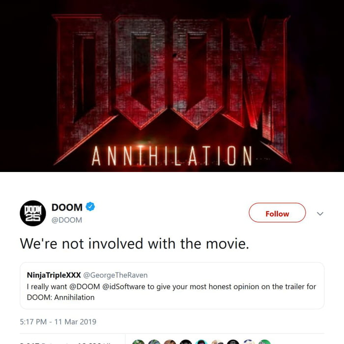 sighs* I just want a good DOOM movie  Is that too much asked for? No