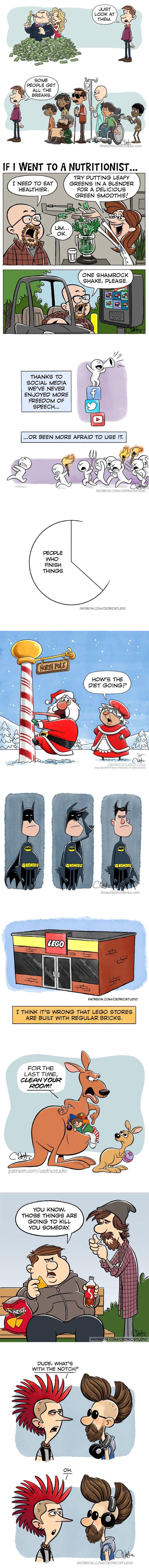 My Most Popular Cartoons of 2018