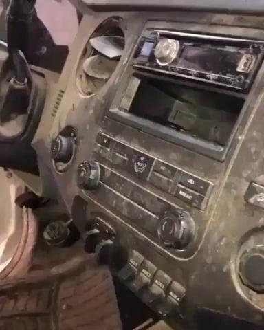 Car being cleaned looks so satisfying