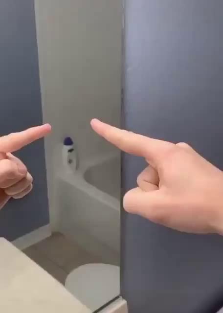 Fingerprint-less mirror.