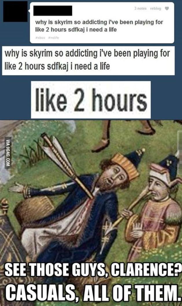 Skyrim life