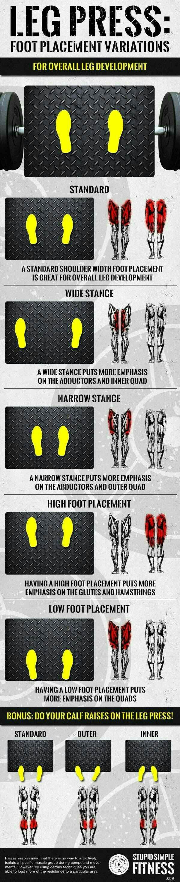 Get some variation while training those bull legs