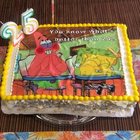 My 25th bday cake