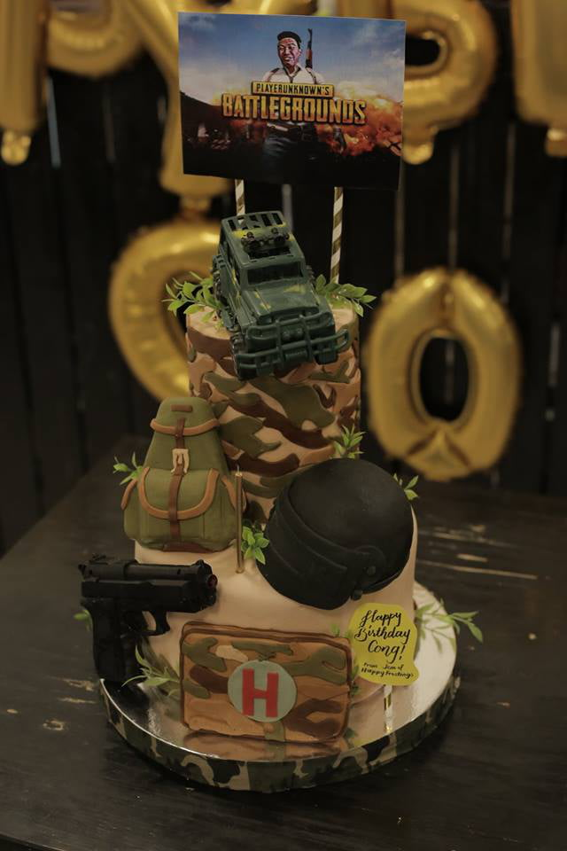 Pubg Inspired Birthday Cake 9gag