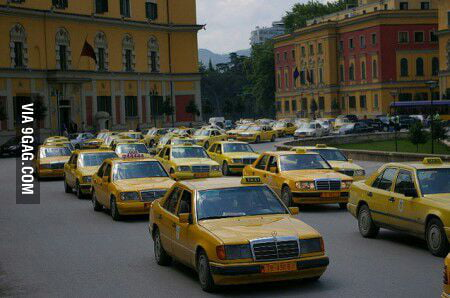 60 percent of the cars in albania are mercedes 9gag for Mercedes benz albania