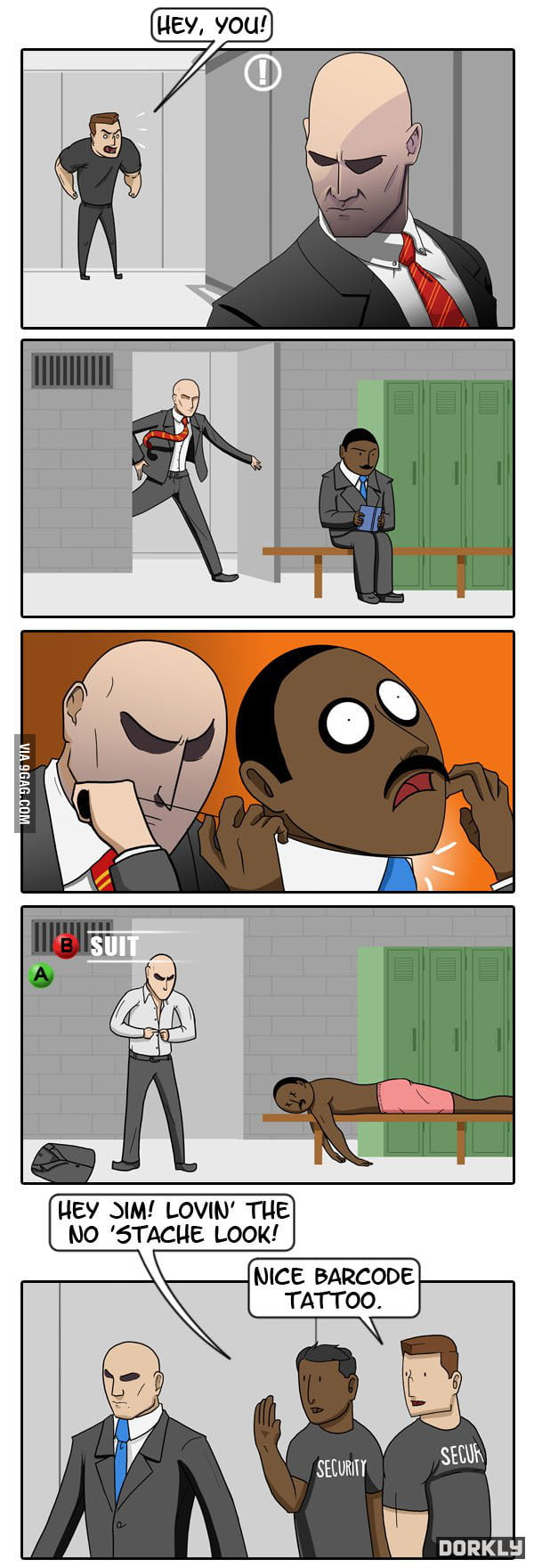 Hitman Master Of Disguise 9gag