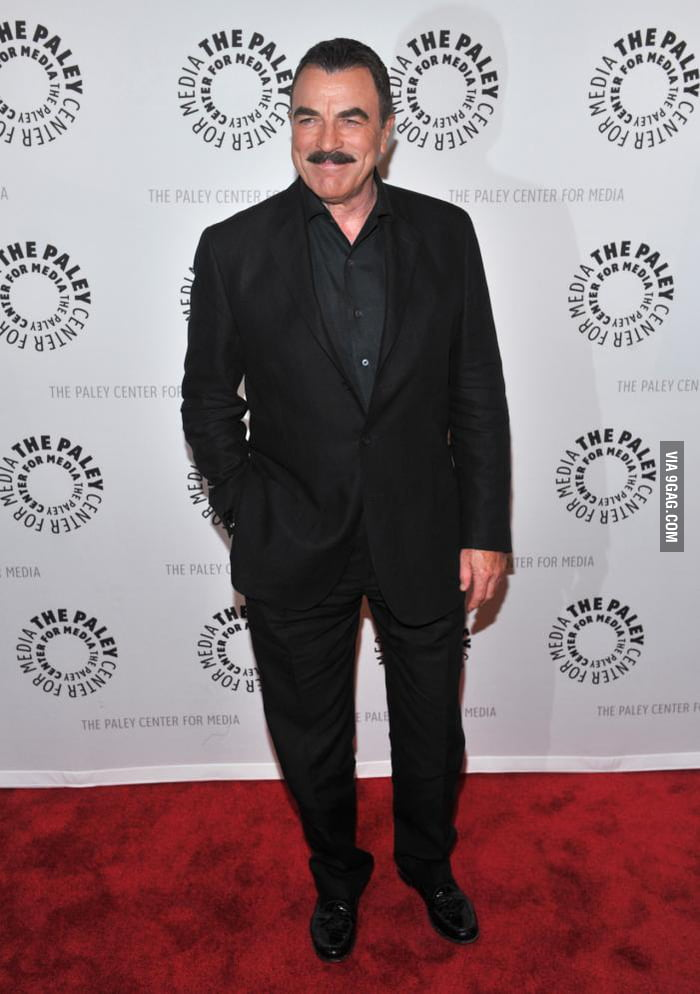 Tom Selleck Must Be The Best Looking 70 Year Old Of All Time 9gag