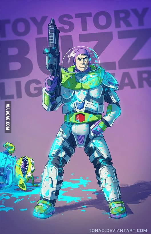 crossover toystory gears of war 9gag