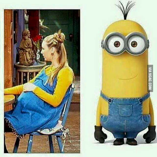 Phoebe is the true creator of minions - 9GAG