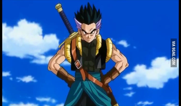 Adult trunks and adult goten fusion - 9GAG