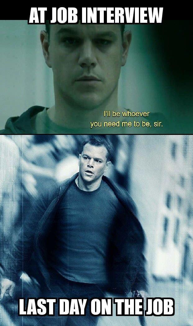Jesus Christ Thats Jason Bourne 9gag