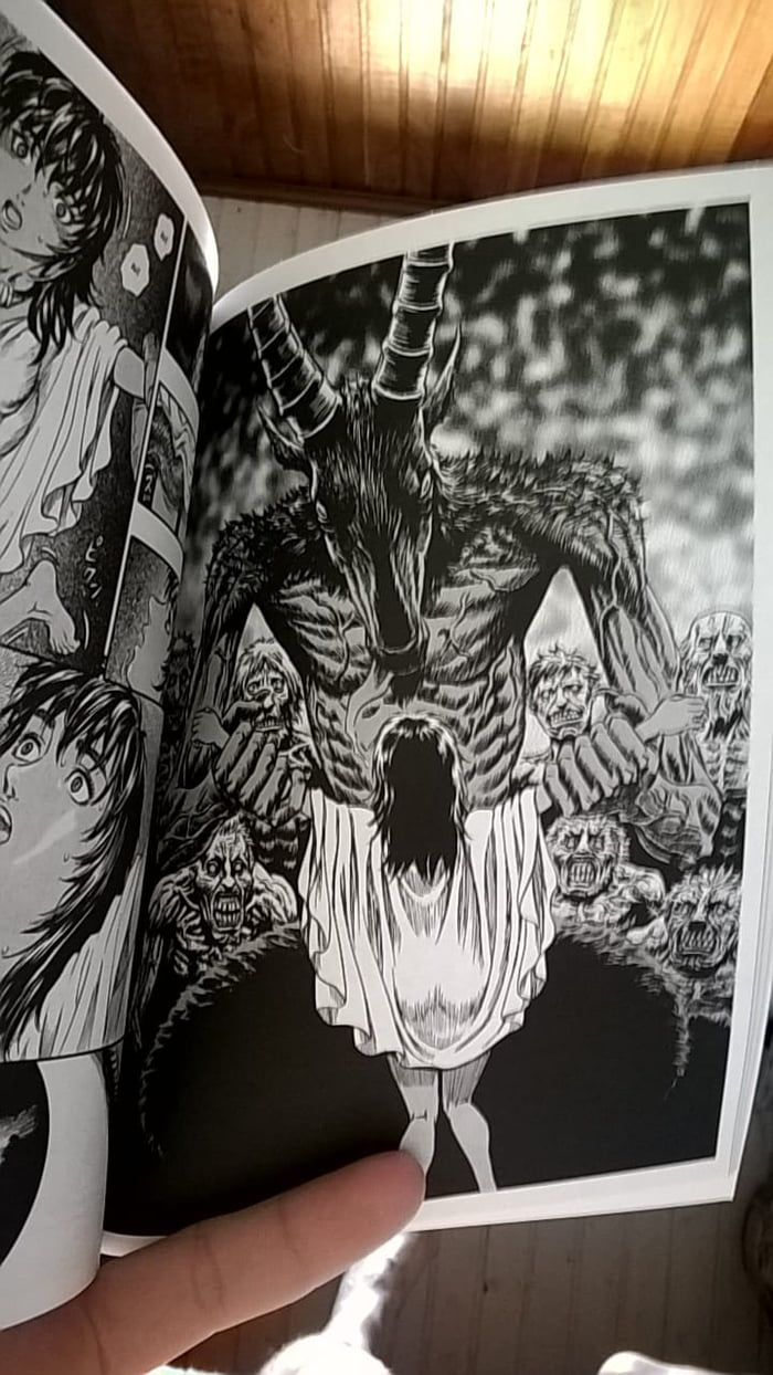 My Gf Give Me A Berserk Manga Of Birthday This Page Takeed My Attention 9gag